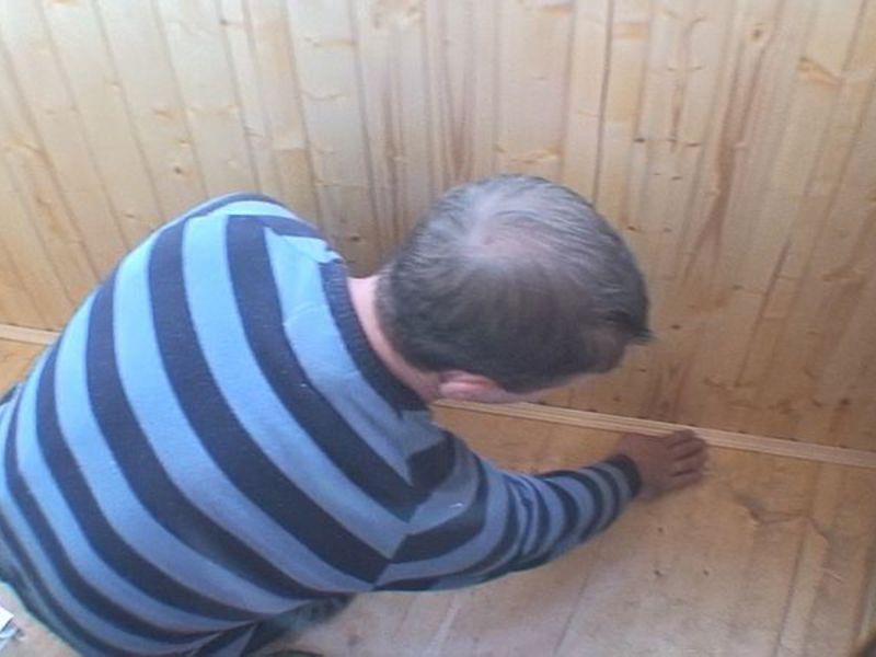 Технология обшивки балкона деревянной вагонкой