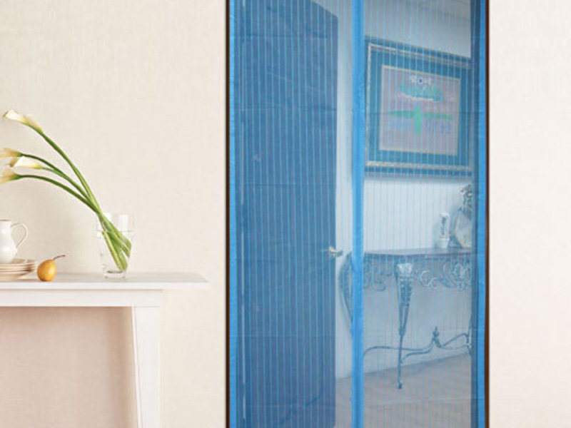 Москитная штора для дверей на магнитах: принцип действия, пр.