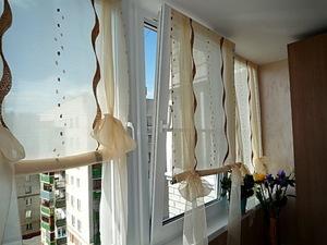 Балконные шторы своими руками