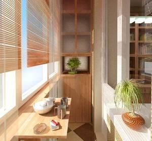 Дизайн балконов в квартире фото