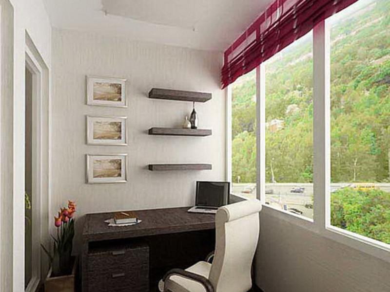 Лучшие идеи оформления балкона и лоджии. фото.