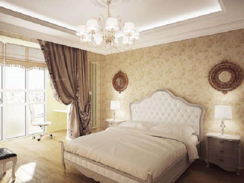 Фото спален с присоединенной лоджией..