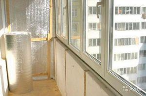 Как утеплить балкон своими руками
