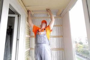 Правила при утеплении балконов