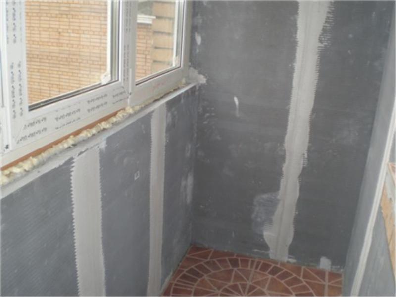 Отделка балкона своими руками с фото