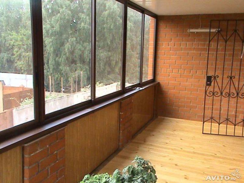Остекление лоджий: теплое и холодное застекление балконов и .