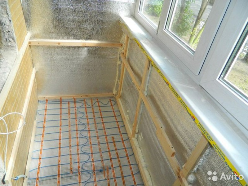 Утеплитель для лоджии и балкона изнутри, утепление 93