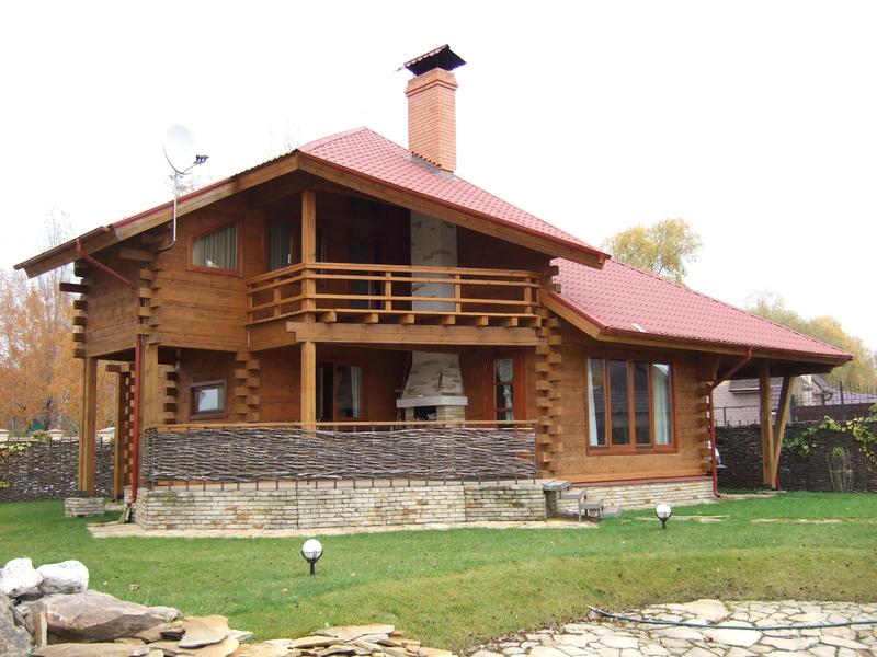 балкон доме руками в своими деревянном закрытый