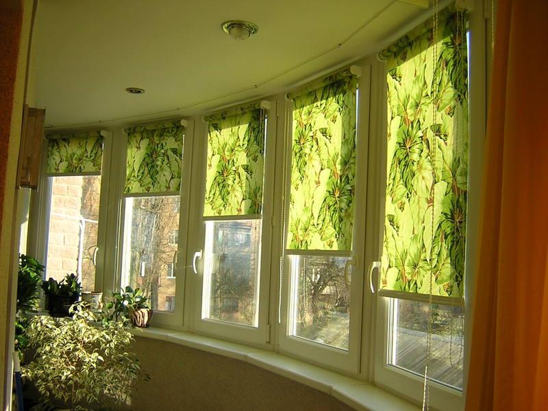 Сшить роллеты на окна