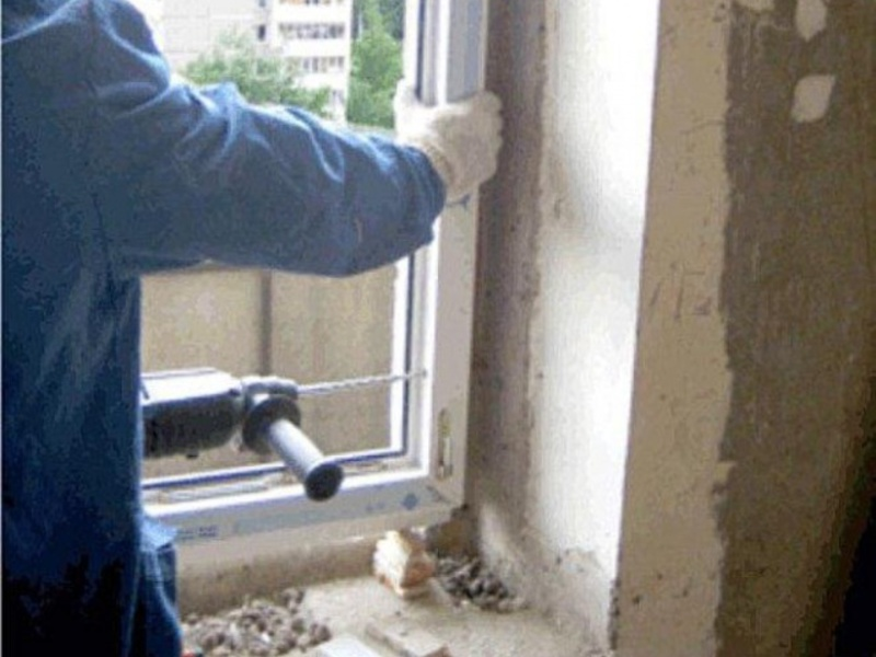 Установка пластиковых окон: монтажу по гост. инструкции с фо.