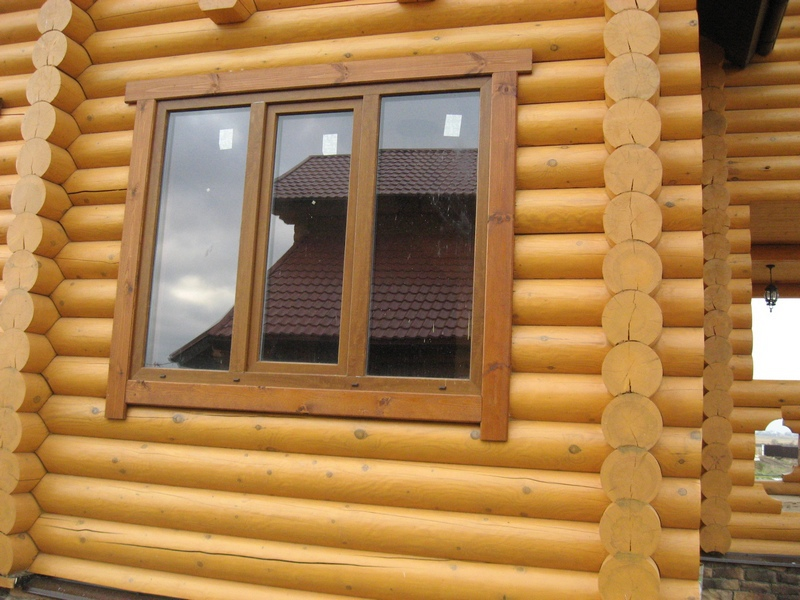 Как установить деревянные наличники на окна видео