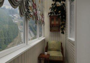 Дизайн хрущевок балконов