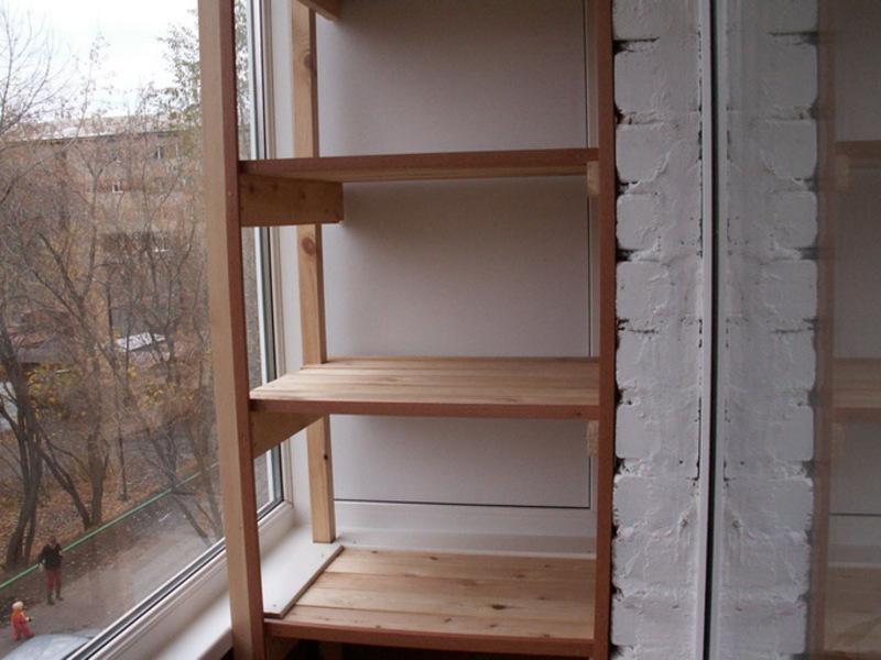 Купить стеллаж на балкон железный недорого.