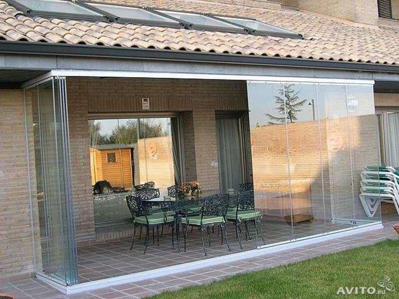 Как сделать стеклянную террасу