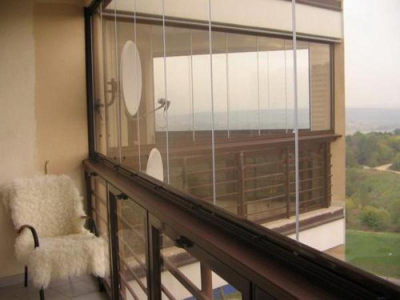 Остекление балконов с выносом - как сделать своими руками? -.