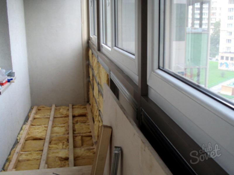 Утепление пола лоджии ремонт квартир своими руками.