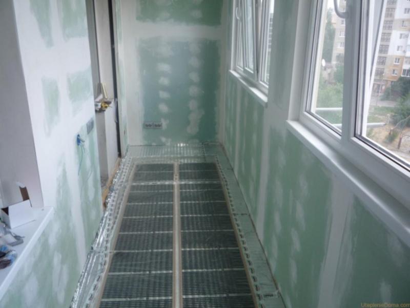 Утеплитель для лоджии и балкона изнутри, утепление 75