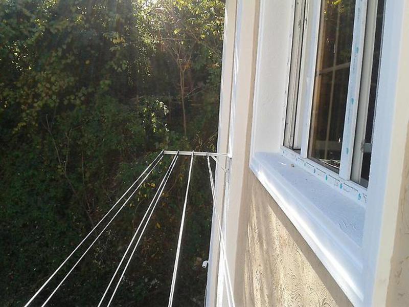 Как сделать сушку белья за балконом 153