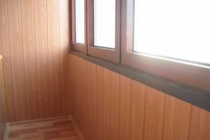 Как утеплить и обшить балкон