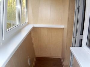 Балконная отделка пластиком