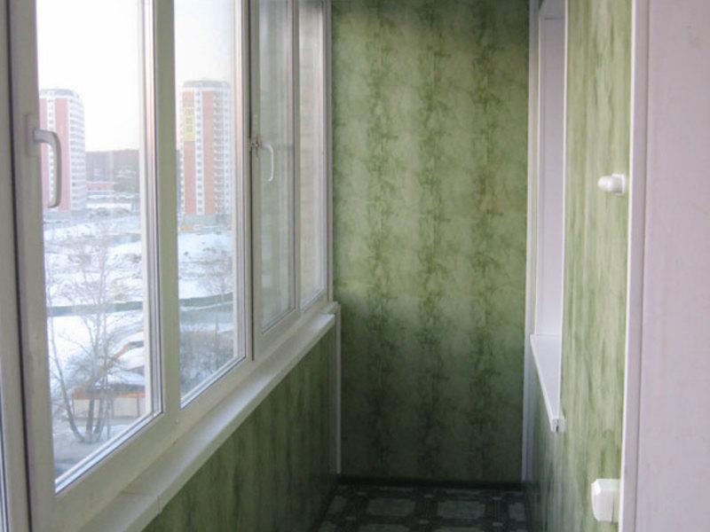 Технология отделки лоджии и балкона пластиковыми панелями, ф.