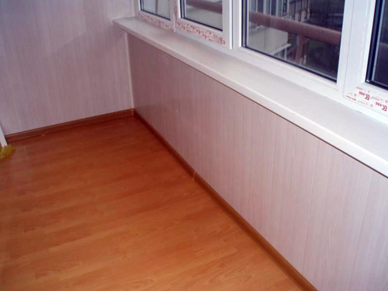 Отделка лоджии панелями пвх - всё о балконе.