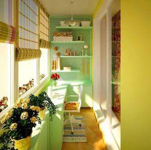 Как красиво оформить маленький балкон
