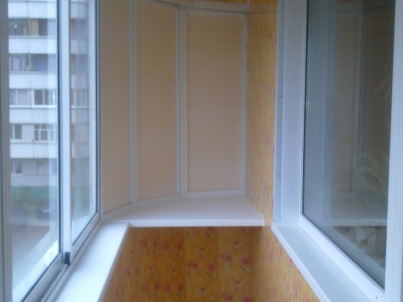 Остекление балконов и лоджий - пермь.