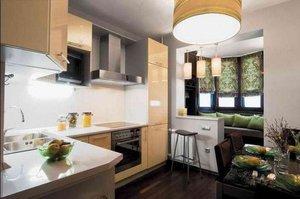 Дизайн кухни совмещённой с лоджией фото