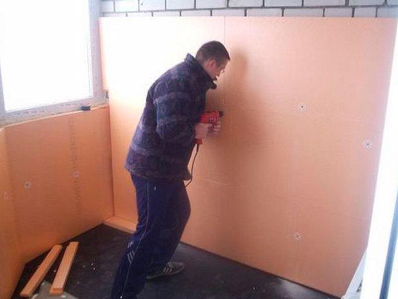 Чем утеплить панельную стену в квартире изнутри своими руками 78