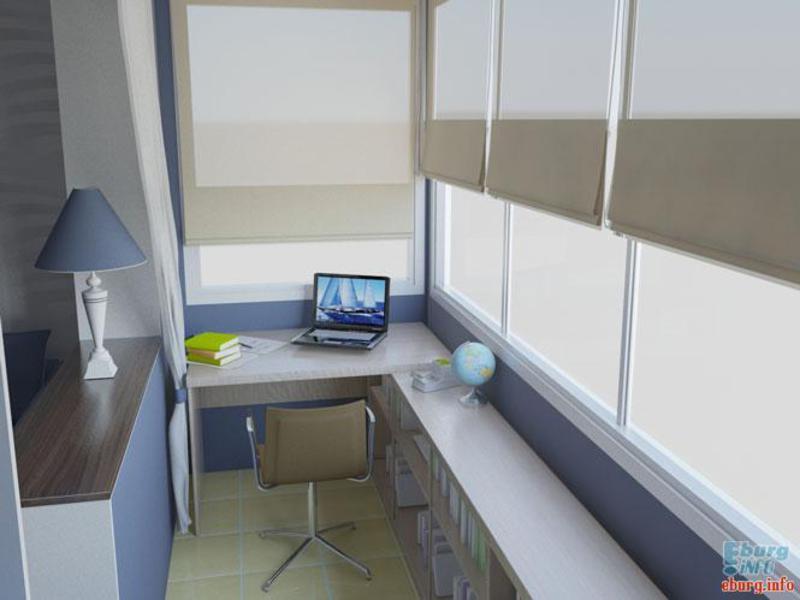 дизайн балконов маленьких фото