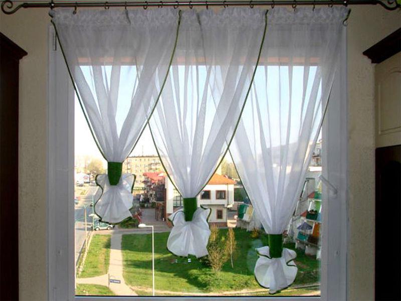 Идей штор для кухни фото своими руками