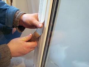 Как снять стеклопакет своими руками