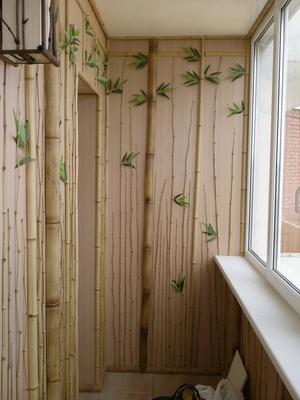 Стильная отделка балкона