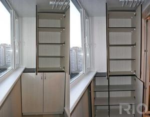 Балконный шкаф своими руками