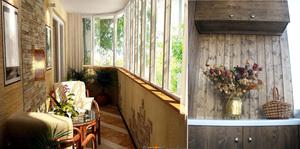 Пластиковая мебель для лоджии и балкона