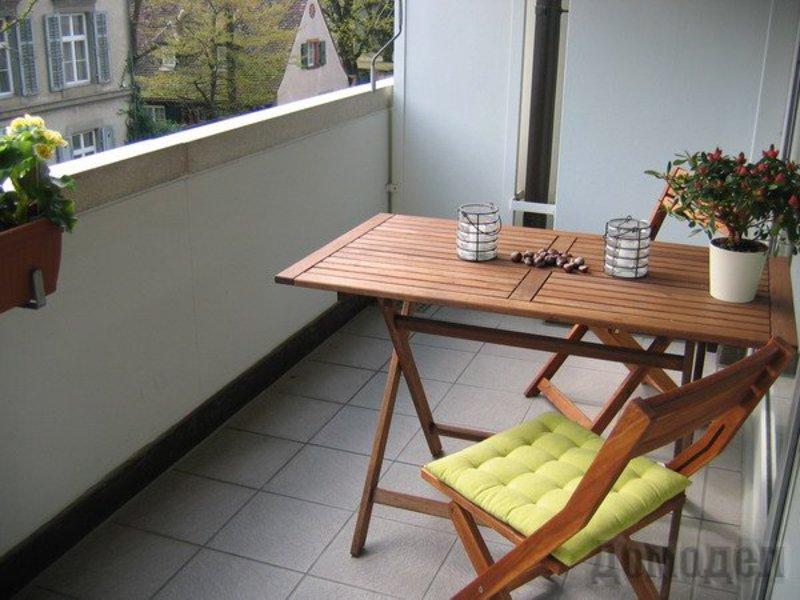 Складной столик на балкон.