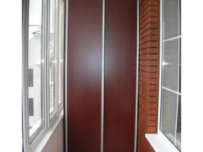 Шкафы на балкон - купить балконный шкаф купе от производител.