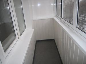 Балкон внутренняя отделка пластиковыми панелями своими руками